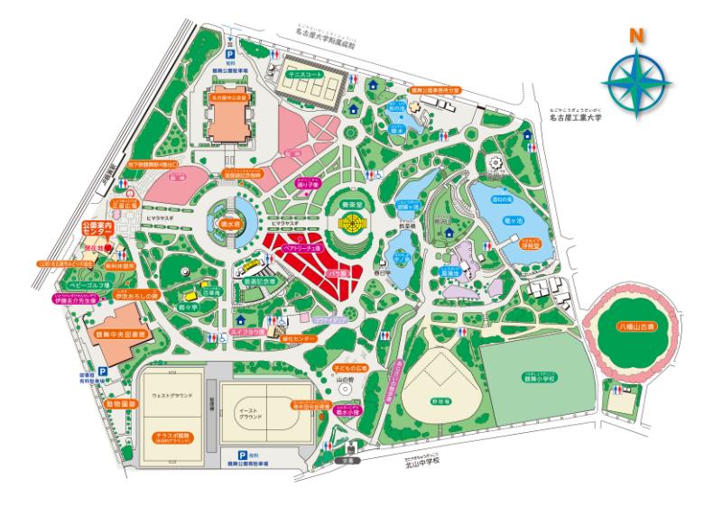 鶴舞公園駐車場